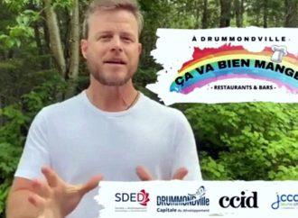"""À Drummondville """"Ça va bien manger"""" Louis Morissette et la SDED vous invitent à participer à la relance !"""