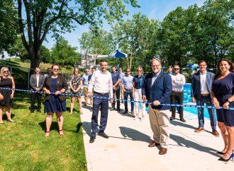 Inauguration de la piscine Woodyatt – Une piscine moderne et multiusage juste à temps pour l'été !
