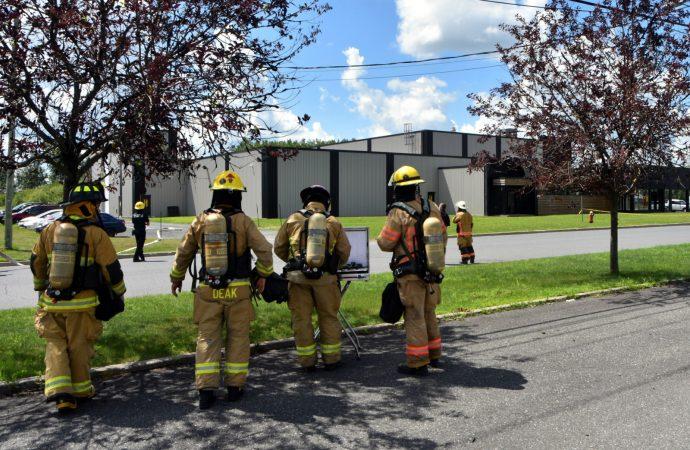 Important déversement d'éthanol dans une entreprise à Drummondville