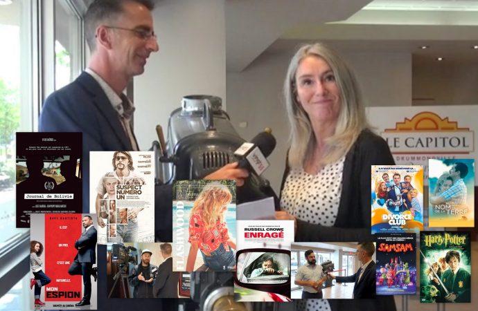 Chronique, programmation du Cinéma Capitol Drummondville semaine du 6 au 14 août, entrevues surprises et nouveautés au programme !