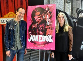 Un tapis rouge au Cinéma Capitol pour la présentation du film JUKEBOX à Drummondville