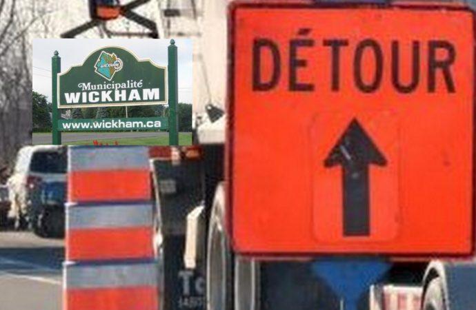Wickham : Fermeture du 7e rang Ouest prolongée jusqu'au 29 septembre