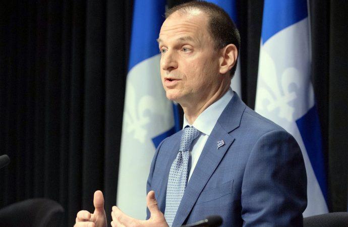 Déficit budgétaire de 4,9 milliards de dollars pour les trois premiers mois de l'exercice 2020-2021 ''Attribuable à pandémie de COVID-19'' précise le ministre des Finances du Québec