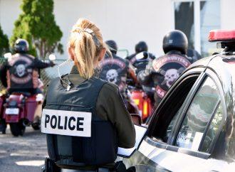 Les policiers de la SQ ont les motards à l'oeil sur le territoire de la MRC de Drummond