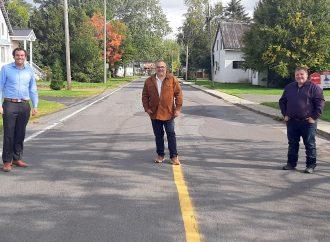Québec accorde une aide financière de près de 1.5m$ pour la réfection de ses infrastructures à Sainte-Clotilde-de-Horton