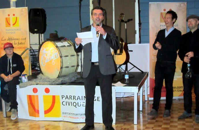 Le député Sébastien Schneeberger souligne l'organisme Parrainage Civique Drummond
