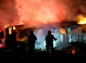 Deux incendies dont un suspect tiennent les pompiers occupés dans la MRC de Drummond