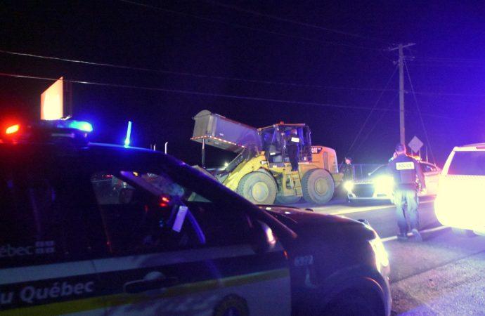 Une intervention et arrestation de routine tourne en poursuite policière à Drummondville