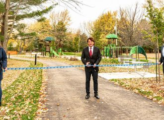 La Ville de Drummondville inaugure les nouvelles installations du parc Kounak