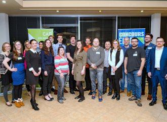Lancement du concours Élan CAE Drummond de la JCCD