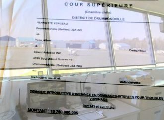 Dossier de l'aéroport plus coûteux que bruyant, plus d'un demi-million investi dans ce dossier par la Ville