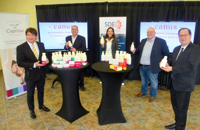 Investissement majeur de 14 millions pour Canus qui s'installe à Drummondville et créera 30 nouveaux emplois