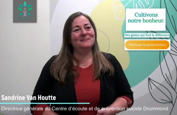 « Cultivons notre bonheur » :  Lancement d'une campagne à teneur positive à Drummondville