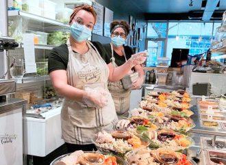 Le Comptoir Lunch double sa superficie !