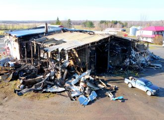 Une dizaine d'employés perdent leur emploi suite à un incendie à Lefebvre près de Drummondville