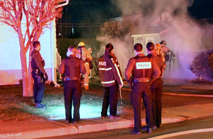 Un début d'incendie contrôlé grâce à l'intervention rapide d'une policière
