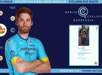 Le cycliste Hugo Houle nommé athlète masculin par excellence en cyclisme sur route
