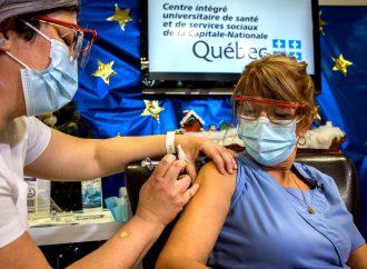 Vaccin : Les premiers Québécois ont reçu aujourd'hui le vaccin contre la COVID-19