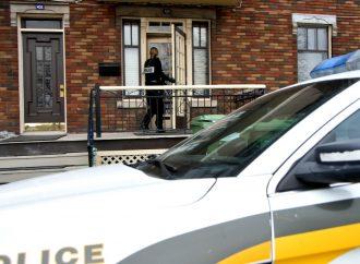 Lutte au trafic de stupéfiants – La SQ procède actuellement à 3 perquisitions à Drummondville