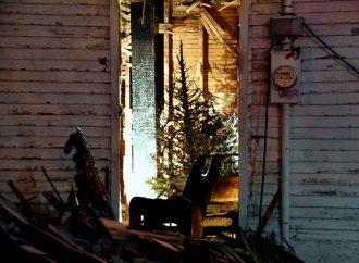 Un sapin naturel en cause dans un incendie de résidence à Drummondville