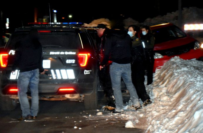 Coups de feu et arrestation dans un quartier résidentiel à Drummondville