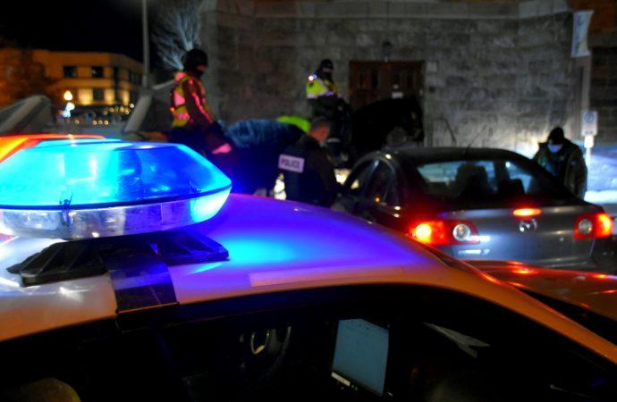 Les policiers du Centre-du-Québec ont émis 59 constats d'infraction en lien avec le couvre-feu