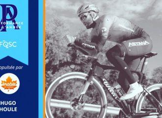 Le cycliste Hugo Houle finaliste à la Performance de l'année 2020 propulsée par l'Érable du Québec
