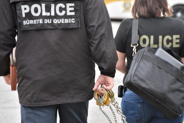 Arrestation et comparution au palais de justice de Drummondville d'un présumé pédophile et agresseur sexuel en série