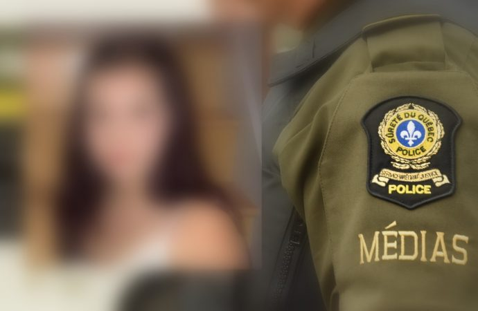La Sûreté du Québec confirme que la jeune fille a été retrouvée saine et sauve et en bonne santé.