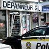 Une entrée fracassante dans un dépanneur à Drummondville