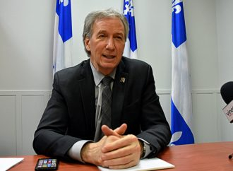 Cinq sujets d'actualité abordés avec le ministre André Lamontagne et député de Johnson