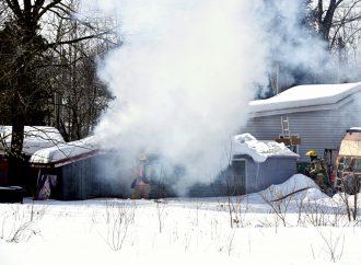 Début d'incendie rapidement maîtrisé par le Service incendie de Drummondville