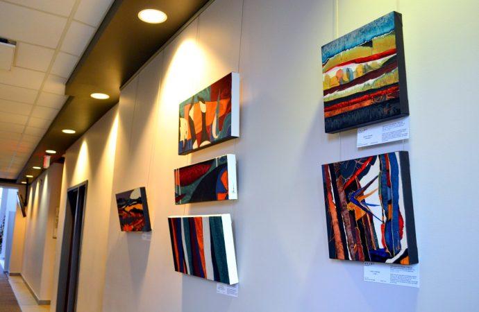 Promotion de talents locaux – La Ville de Drummondville expose des œuvres d'artistes membres d'Axart