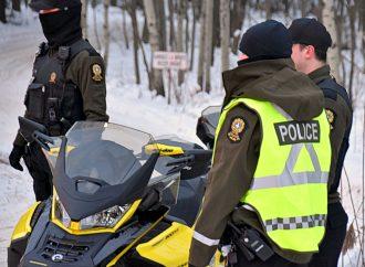 Bilan de l'opération « Impact » dans les sentiers de motoneige de l'Estrie et du Centre-du-Québec