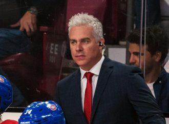 Dominique Ducharme assurera le poste d'entraîneur-chef par intérim du Canadien de Montréal