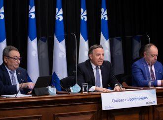 Pandémie de COVID-19 : Le premier ministre François Legault fait le point sur un an de gestion de crise