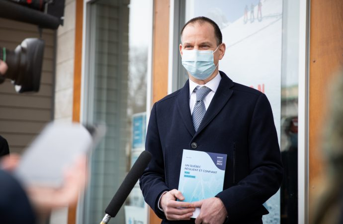 BUDGET 2021-2022 – Des investissements de 15 G$ pour renforcer notre système de santé, soutenir la réussite éducative et accélérer la croissance de l'économie du Québec