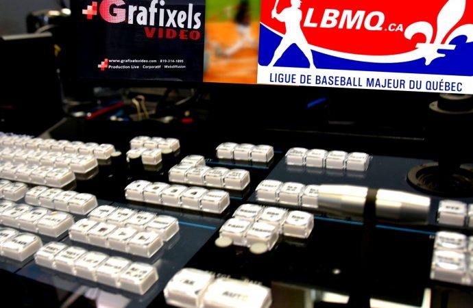Diffusion 20e saison de la LBMQ  – Marché conclu entre la Ligue de Baseball Majeur du Québec et Grafixels Vidéo