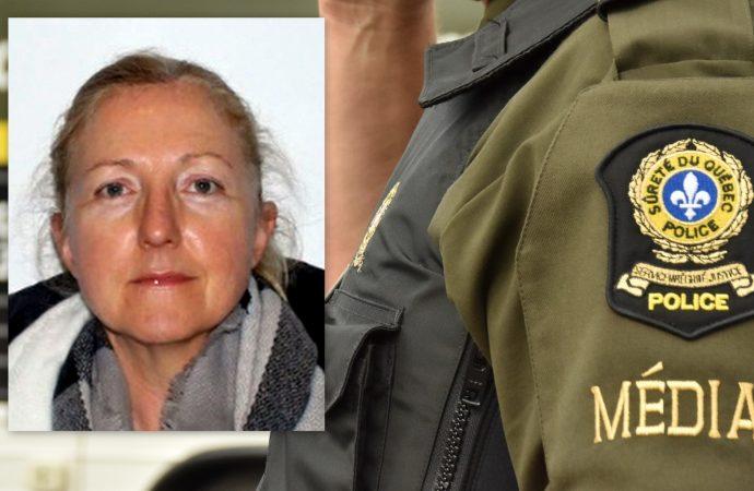 La Sûreté du Québec demande l'aide du public pour retrouver Solange Bergeron
