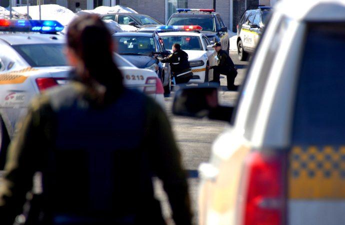 Un bon film d'action à la télé à l'origine de l'important déploiement policier à Saint-Charles de Drummond