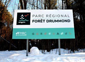 Plus de 300 000 $ pour les milieux naturels dans le parc régional de la Forêt Drummond