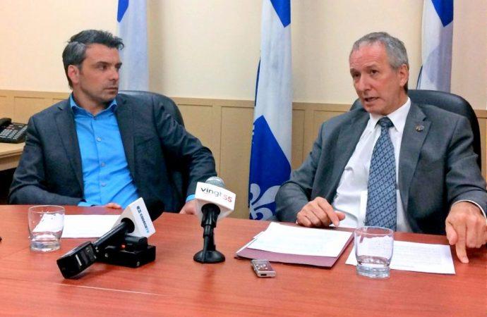 Soutien financier aux MRC – Québec annonce un soutien financier de plus de 750 000 $ pour la MRC de Drummond