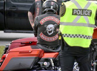 Les policiers de la SQ ont à l'œil les groupes de motards sur le territoire de la MRC Drummond