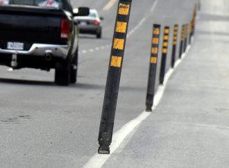Sécurité routière et prévention – La Ville de Drummondville procède à l'installation de bornes de délimitation sur la rue Saint-Pierre