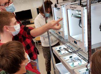 Projet novateur- Des jouets créés pour des élèves de maternelle et secondaire grâce au FabLab de Marie-Rivier