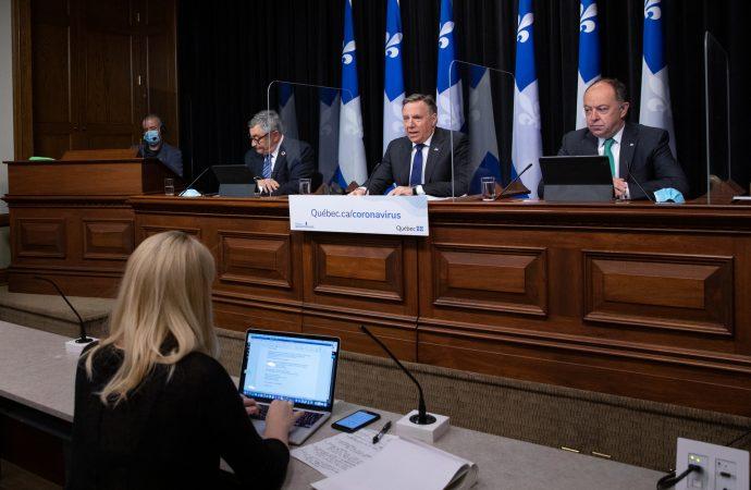 Pandémie : « On va bientôt annoncer un plan complet d'assouplissements » annonce François Legault