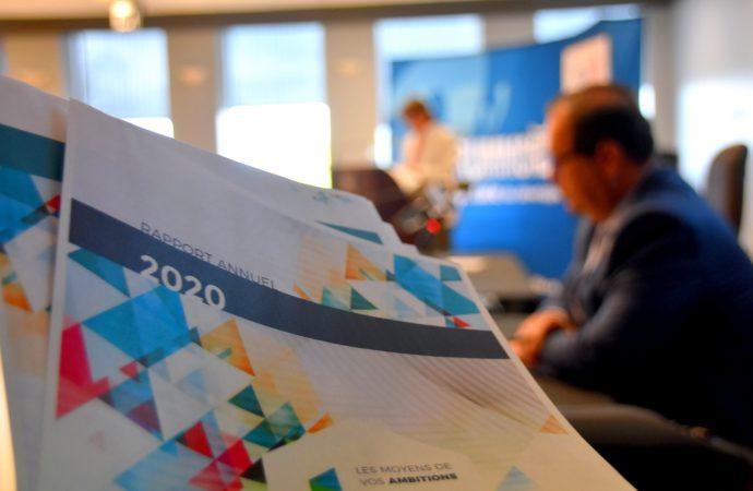 Résultats économiques 2020 de la SDED – Malgré une baisse en matière d'investissement le portrait économique de Drummondville demeure enviable