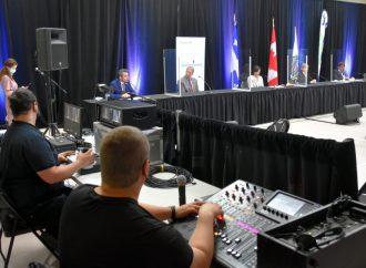 André Lamontagne et Sébastien Schneeberger dressent le bilan d'une session parlementaire positive pour les citoyens de la MRC de Drummond.