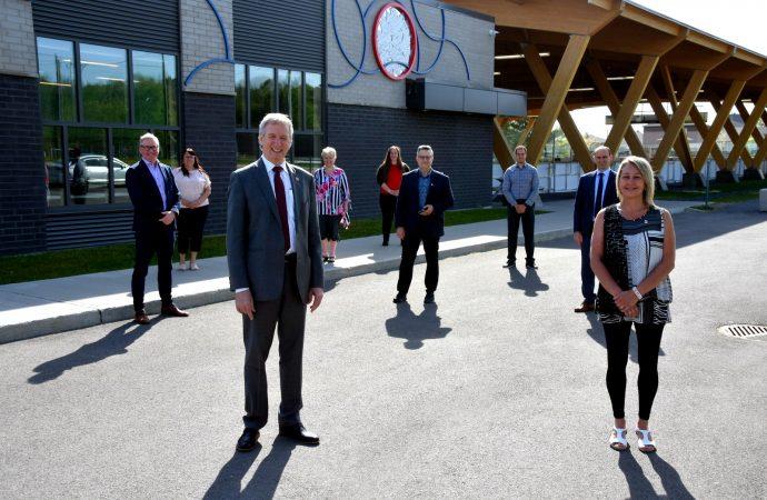 Infrastructures récréatives et sportives – Québec et Ottawa confirment des investissements importants pour la phase II du Parc Yvon-Lambert