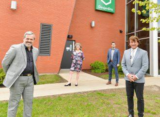 Pour la promotion d'un mode de vie durable, sain et actif – La Ville de Drummondville et la Caisse Desjardins de Drummondville scellent un partenariat coopératif